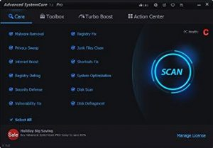 Advanced SystemCare Pro 12.4.0 Crack Full Torrent