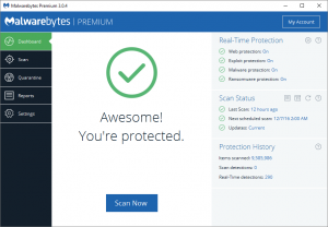 Malwarebytes 3.8.3.2965 Build 11844 Premium + License Key 2020