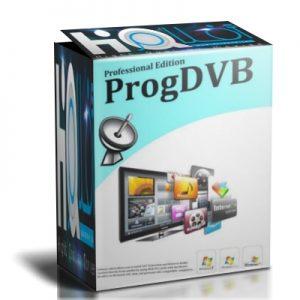 ProgDVB 7.33.5 Crack + Activation Key Full Download 2020